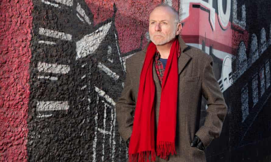 Graham Caveney photographed in Nottingham, England.