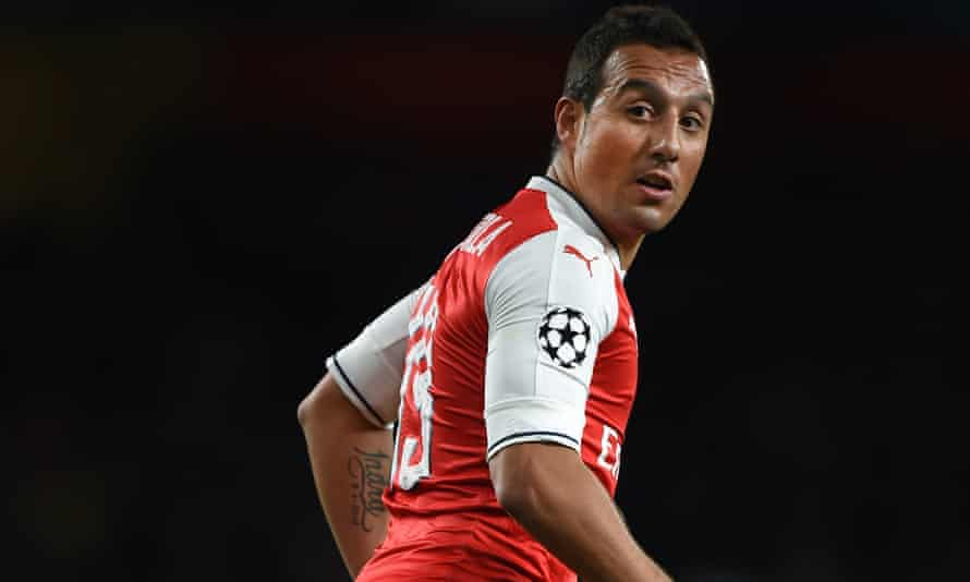 Cazorla left Arsenal in May and had not played for the club since October 2016.