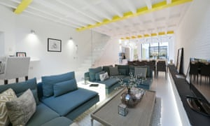 A basement conversion in Fulham, south-west London.