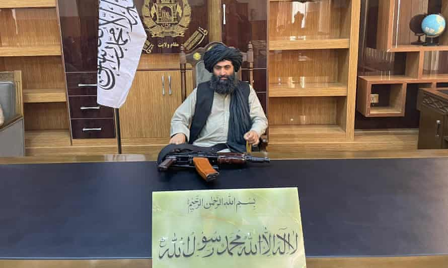 Governor of Helmand province, Talib Mawlawi.