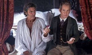 Tom Hollander (right) and Ian McShane in Doctor Thorne