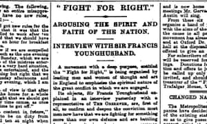 The Observer, 31 October 1915.