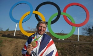 Team GB's Olympic showjumping gold medallist Nick Skelton.