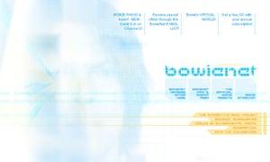 BowieNet screengrab
