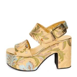 sandals, £540 driesvannoten.com