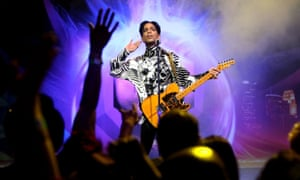 'It's impossible to overstate his influence' … Prince.