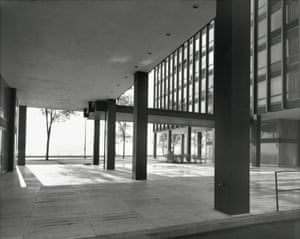 Lake Shore Drive Apartments by Ludwig Mies van der Rohe, Chicago, Illinois, 1963