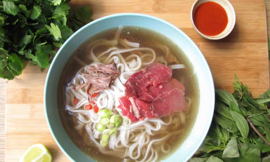 Felicity Cloake's perfect beef pho.