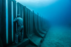 The project will become an artificial reef for diving, leading to increases in revenue for the local economy.