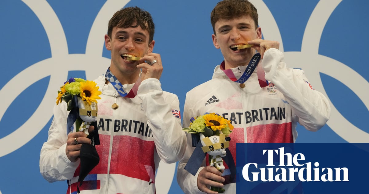 Tom Daley and Matty Lee pip China and ROC to win Olympic diving gold at last