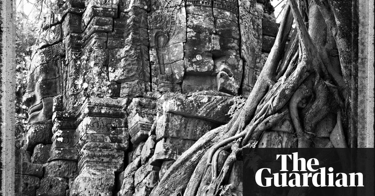 Art of stone spiritual sculptures around the world in
