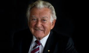 Bob Hawke pictured in January 2014