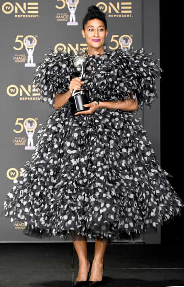 Tracee Ellis Ross, winner of Outstanding Actress in a Comedy Series, attends the 50th NAACP Image Awards at Dolby Theatre on March 30, 2019 in Hollywood, California