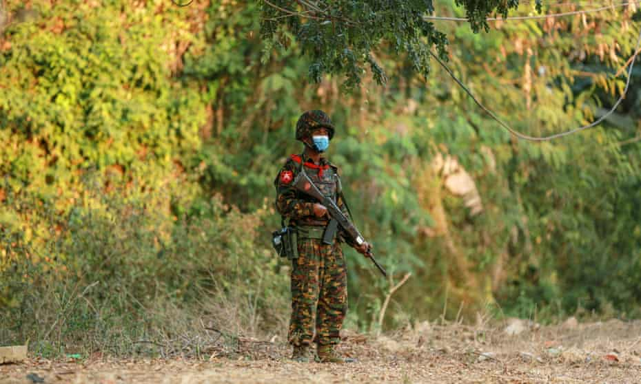 The fighting in the north-west Magway region was the deadliest since July between government troops and resistance forces.