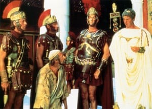 Graham Chapman, John Cleese and Michael Palin in Life of Brian.