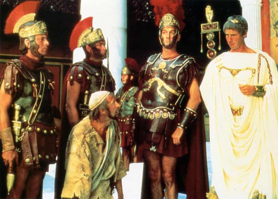 Graham Chapman, John Cleese and Michael Palin in Life of Brian.