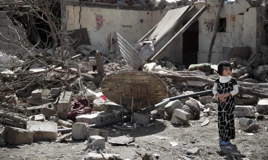Yemen bomb damage