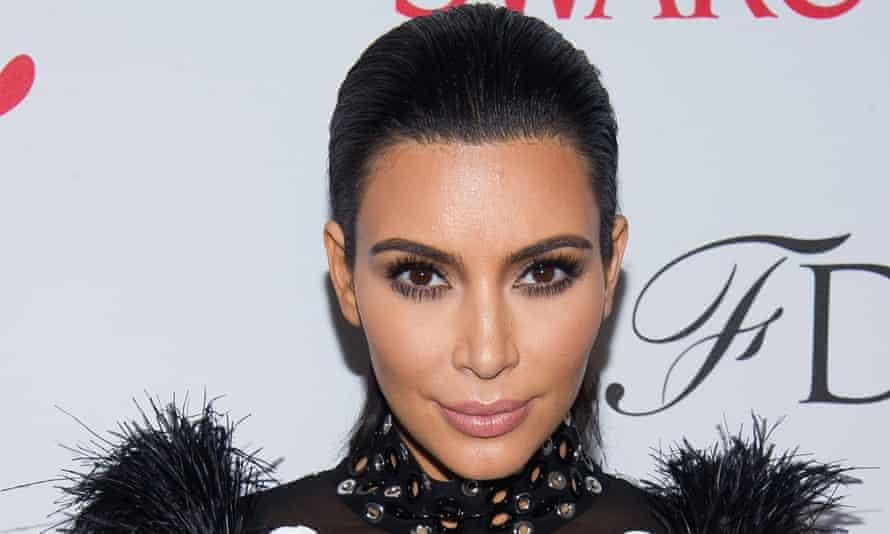 Queen of contouring: Kim Kardashian