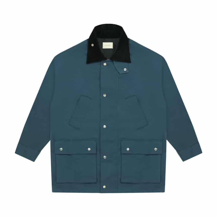 Deadstock fabric jacket