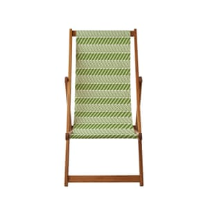 Pea pod deckchair from thornback and peel