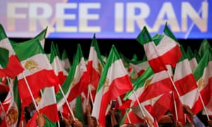 Iranian opposition supporters attended the MEK event in Villepinte, near Paris, in June