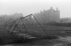 Harrison Park, 1960 For most people, his subject matter would go entirely unnoticed. But Robert spotted worthwhile images at almost every turn. Edinburgh, whose famous landmarks collide with a labyrinth of cobbled streets and alleyways, was full of such quirky potential, and his black and white photographs of the city remain some of his best work