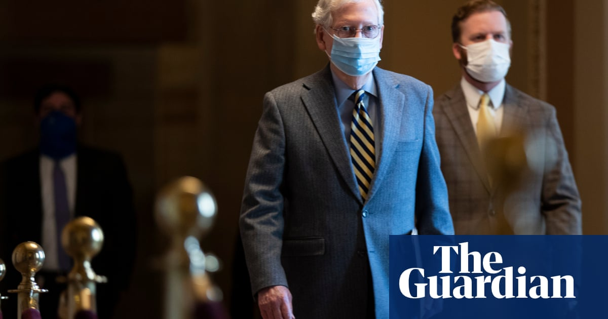 Mitch McConnell says 'no realistic path' for $2000 relief checks bill – The Guardian