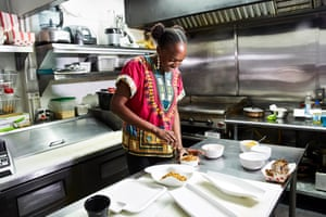 Simileoluwa Adebajo, homesick for food she grew up eating in Nigeria, started Eko Kitchen, San Francisco's first Nigerian restaurant.