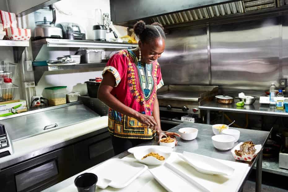 Simileoluwa Adebajo, homesick for food she grew up eating in Nigeria, started Eko Kitchen, San Francisco's first Nigerian restaurant.
