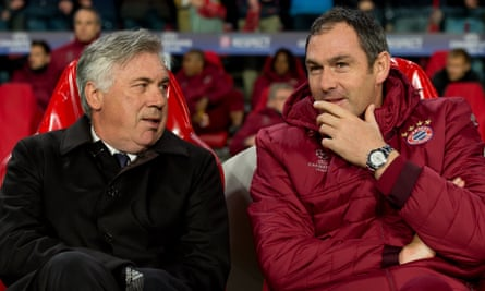 Carlo Ancelotti and Paul Clement worked together at Chelsea, Real Madrid, PSG and Bayern Munich.