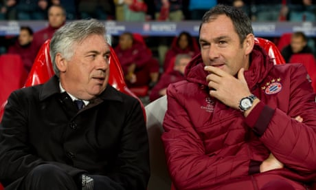 Paul Clement on Carlo Ancelotti: 'If I were a player, I'd love to play for him'
