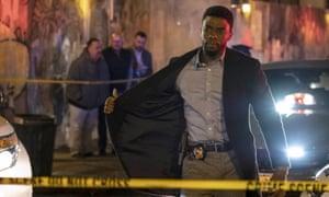 Chadwick Boseman in 21 Bridges, 2019