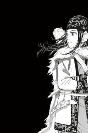 Noda Satoru's Golden Kamuy, part of Manga.