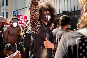 Protestors, San Francisco, California, USA, by Virginia Hines