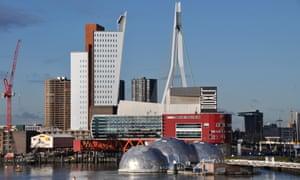 Rijnhaven cityscape