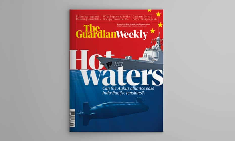 The cover of the 24 September edition of Guardian Weekly.