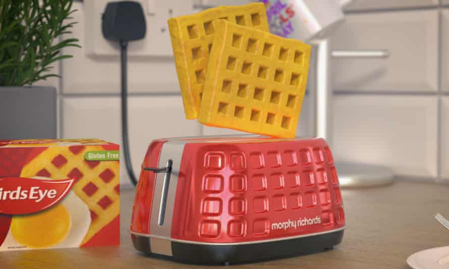 The April Fool toaster.