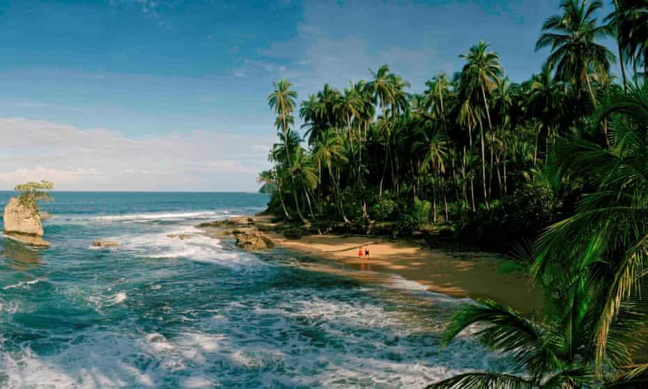 Manzanillo on Costa Rica's Caribbean coast near Puerto Viejo.