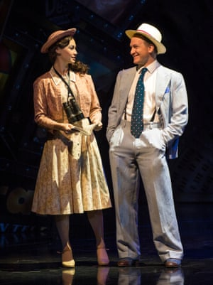 Guys and Dolls Siubhan Harrison as Sarah Brown and Jamie Parker as Sky Masterson Savoy theatre
