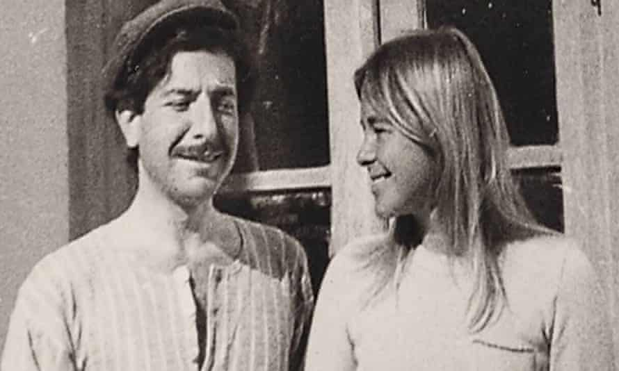 """This image released by Roadside Attractions shows Leonard Cohen and Marianne Ihlen in a scene from the documentary """"Marianne & Leonard: Words of Love."""""""