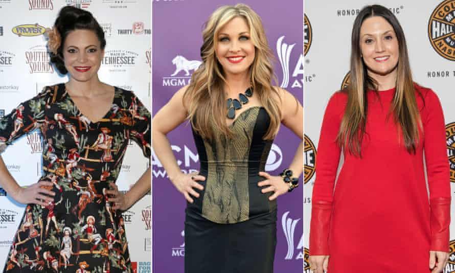 Indie-pedent women … Angaleena Presley, Sunny Sweeney and Natalie Hemby.