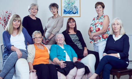 Members of the Leeds Birth Families Group, which supports women who had infants adopted in the 30 years after the second world war.