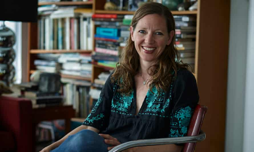 Writer and critic Maggie Nelson, whose The Argonauts won the 2016 NBCC Award for criticism, photographed at her Los Angeles home.