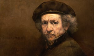 Varied and accomplished ... Rembrandt self-portrait, exact date unknown.