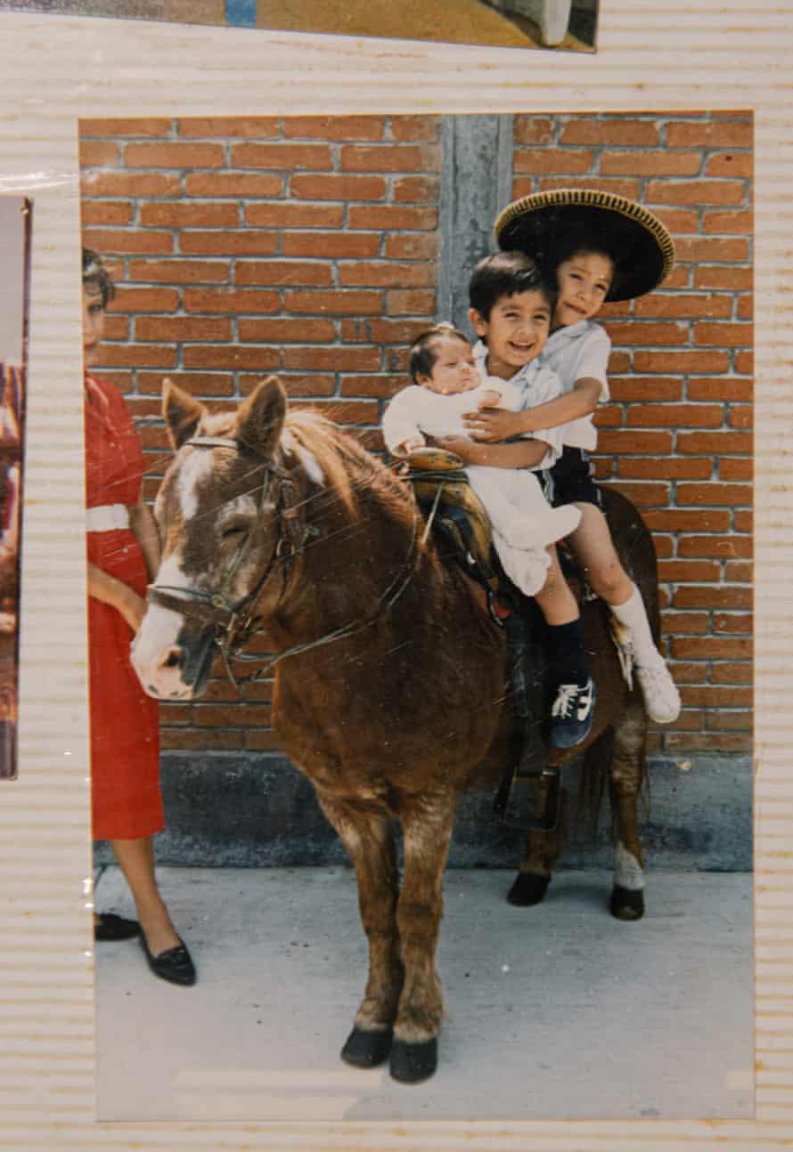Juan, Humberto and Javier in happier times