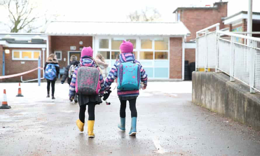 Schools are closed in England as part of its third Covid-19 lockdown.
