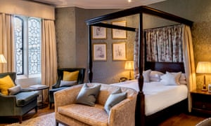 A room at Eastwell Manor, Champneys Hotel and Spa