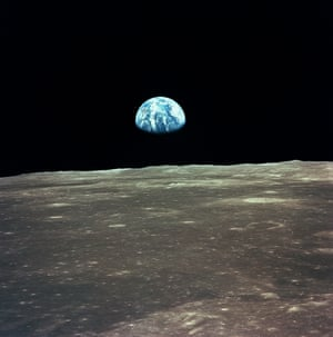 24 December 1968 - One of the most iconic views of Earth, taken from the Apollo 11 spacecraft as it orbited the moon