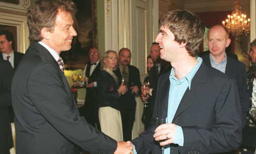 تونی بلر با نوئل گالاگر دیدار می کند
