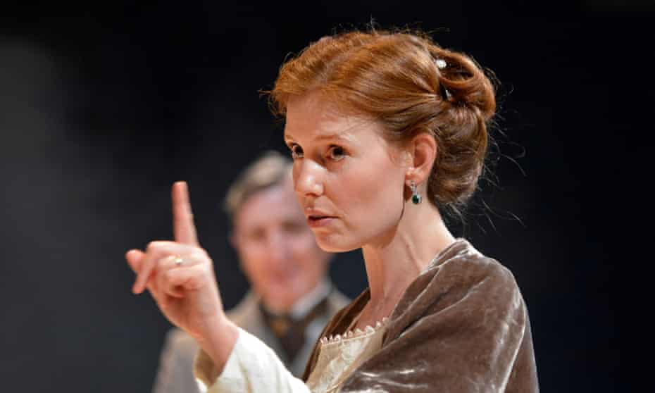 Compassion … Amy Nuttall as Hermione in The Winter's Tale at the Octagon, Bolton.